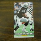 Winston Moss Los Angeles Raiders Card No. 208 - Game Day '94 Fleer Football Card