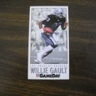 Willie Gault Los Angeles Raiders WR Card No. 259 - Game Day 1992 National Football Card