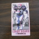 Leroy Hoard Cleveland Browns RB Card No. 139 - Game Day '93 Fleer Football Card