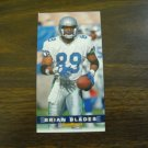Brian Blades Seattle Seahawks Card No. 378 - Game Day '94 Fleer Football Card