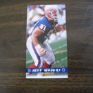 Jeff Wright Buffalo Bills Card No. 46 - Game Day '94 Fleer Football Card