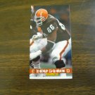 Tony Jones Cleveland Browns Card No. 82 - Game Day '94 Fleer Football Card