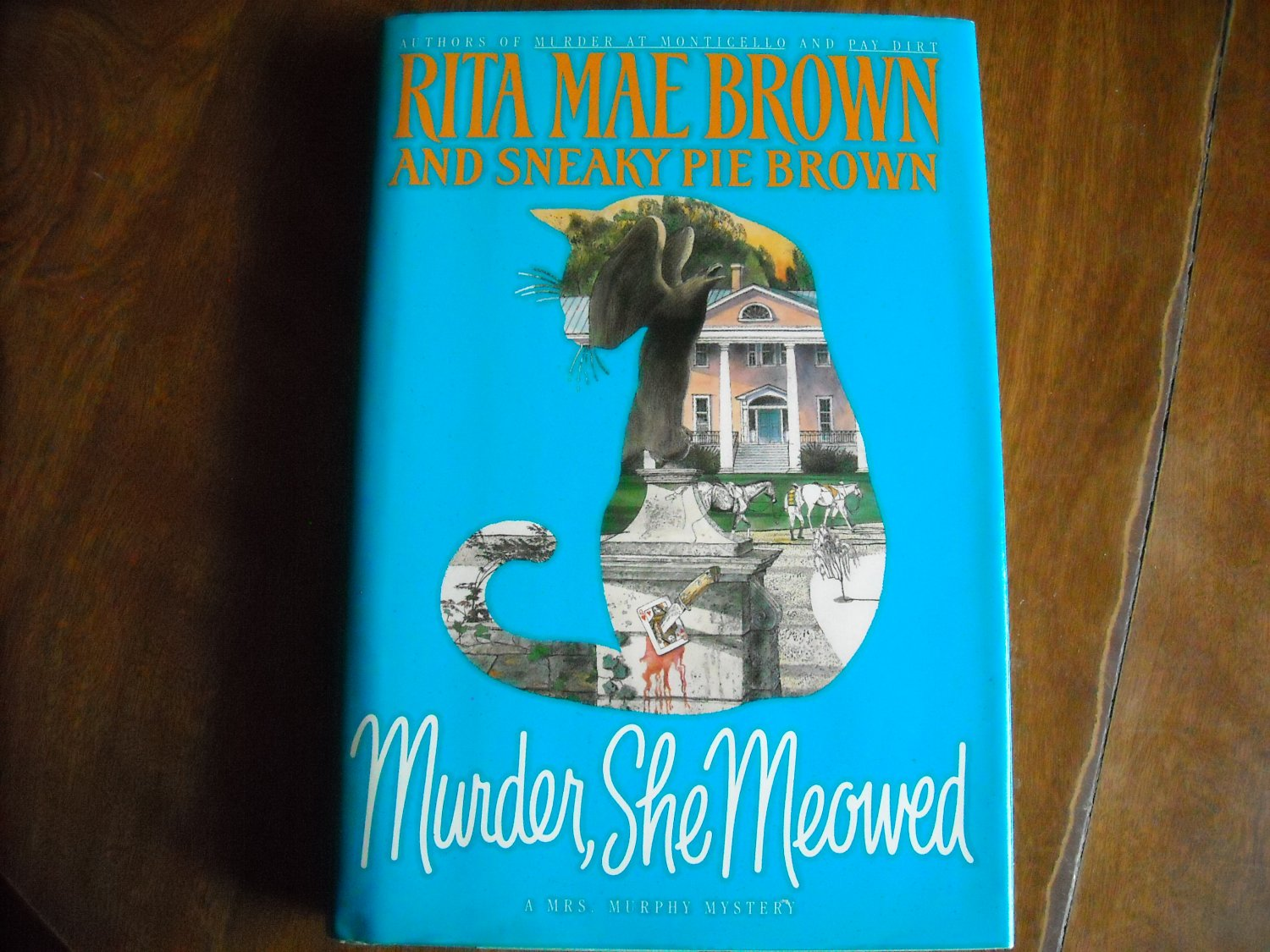 Murder She Meowed by Rita Mae Brown and Sneaky Pie Brown (1996) (G2A) Mrs. Murphy #5