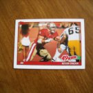 Kevin Fagan San Francisco 49ers DE Card No 80 - 1991 Topps Football Card
