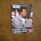 Jacques Dussault Montreal Machine Head Coach Card No 15 - 1991 World League Football Card