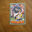 Alonzo Mayes Chicago Bears TE Card No. 224 - 1999 Topps Football Card