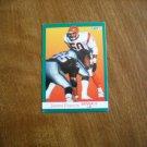 James Francis Cincinnati Bengals LB Card No. 20 - 1991 Fleer Football Card