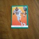 Carl Zander Cincinnati Bengals LB Card No. 29 - 1991 Fleer Football Card
