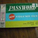 Password Volume Ten Game by Milton Bradley (1962) Word Association Game
