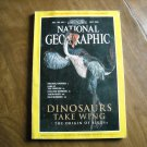 National Geographic Vol. 194 No. 1 July 1998 Frogfish Denmark Origin of Birds Yukon Inca (G3)