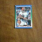 Bernie Kosar Cleveland Browns Quarterback Card No. 60 - 1990 Score Football Card