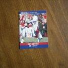 Nate Odomes Buffalo Bills #43 - 1990 NFL Football Card