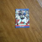Darryl Talley Buffalo Bills LB Card No. 47 - 1990 NFL Football Card