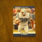 Mike Prior Indianopolis Colts S Card No. 133 - 1990 NFL Pro Set Football Card