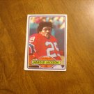 Harold Jackson New England Patriots  #7 - 1980 Topps Chewing Gum Football Card