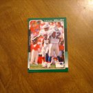 Lawyer Milloy New England Patriots Safety Card No. 121 - 2000 Score Football Card
