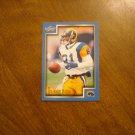 Az-Zahir Hakim St. Louis Rams WR Card No. 104 - 1999 Score Football Card