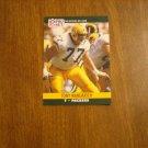 Tony Mandarich Green Bay Packers T Card No. 504 - 1990 NFL Pro Set Football Card