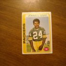 Johnnie Gray Green Bay Packers S Card No. 138 - 1978 Topps Football Card