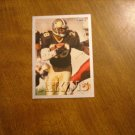 Gene Atkins New Orleans Saints S Card No. 435 - 1993 Fleer Football Card