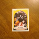 Tim Johnson Pittsburgh Steelers DL Card No. 144 - 1990 Fleer Football Card