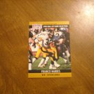 Franco Harris Pittsburgh Steelers RB Card No. 25 - 1990 NFL Pro Set Football Card
