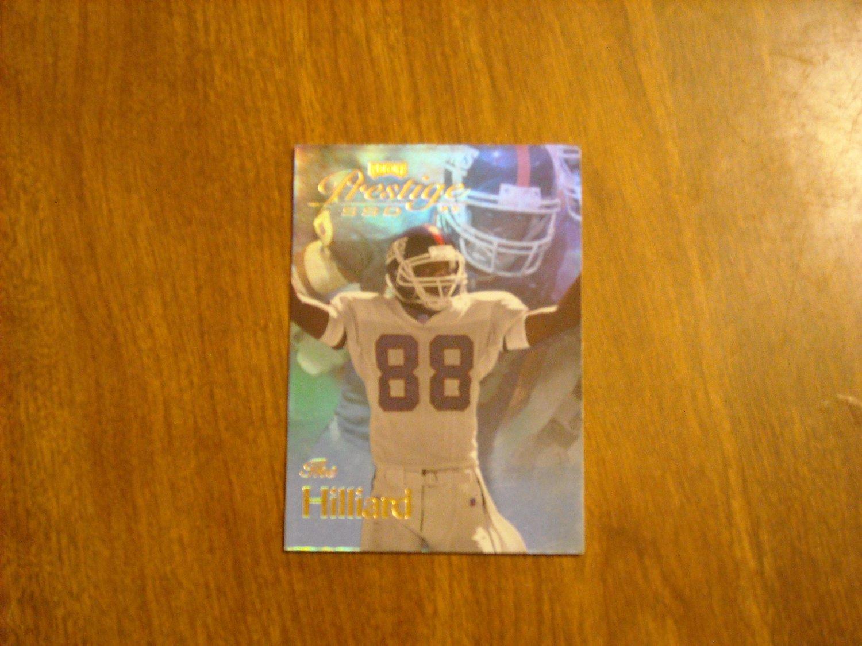 Ike Hilliard New York Giants Prestige SSD Playoff Card No. BO87 / 87 - 1999 Playoff Football Card