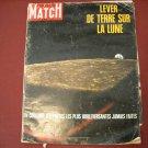 Paris Match # 1027 Janvier 1969 French Language - Lever De Terre Sur La Lune (G1)
