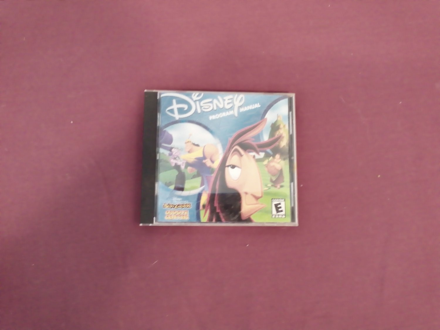 Disney's The Emperor's New Groove Groove Center CD-ROM Game Rated E (mw)