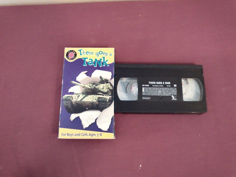 There Goes a Tank - VHS Kid Vision (2003) WarnerVision Warner Bros. Dave Hood