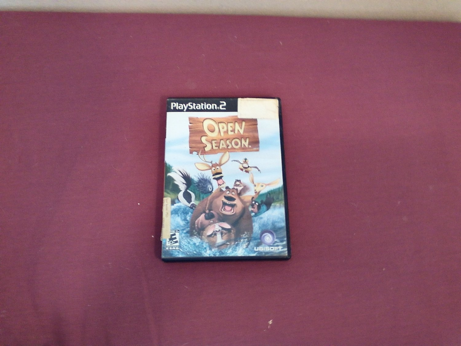 Open Season PS2 PlayStation 2, Rated E 10+ 2006 Sony Pictures Animation DVD Game (mw)