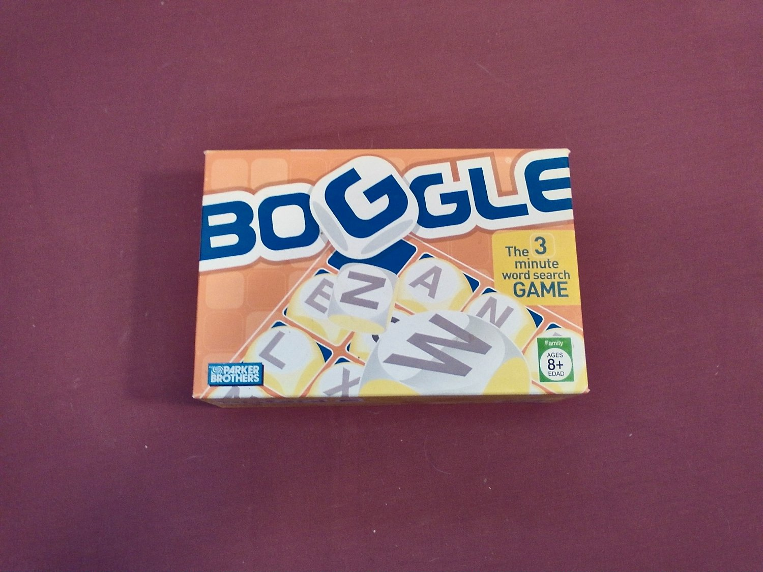 Boggle the 3 Minute Word Search Game by Parker Brothers Hasbro 2005 - Complete (mw)