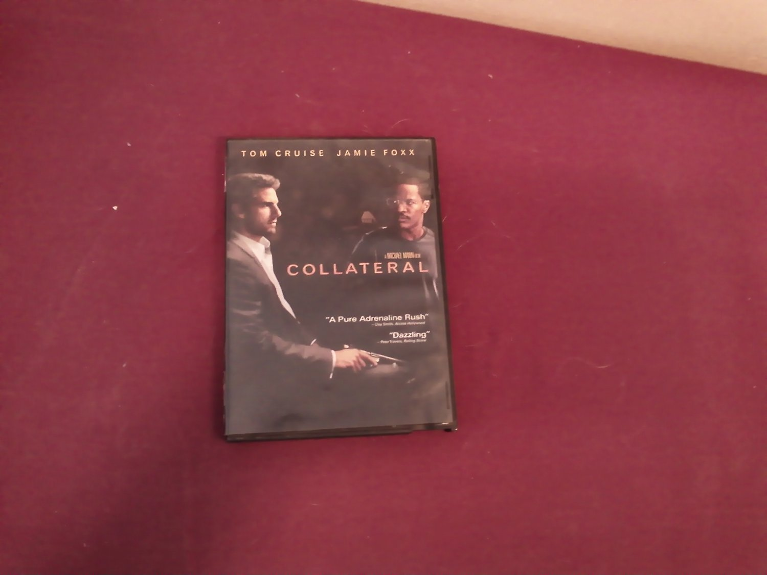 Collateral DVD Tom Cruise / Jamie Foxx Rated R 2004 Two Disc Paramount Pictures
