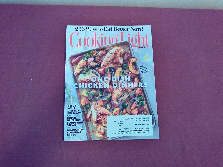 Cooking Light Jan / Feb 2017 Vol. 31 No. 1 - One-Dish Chicken Dinners (G1)