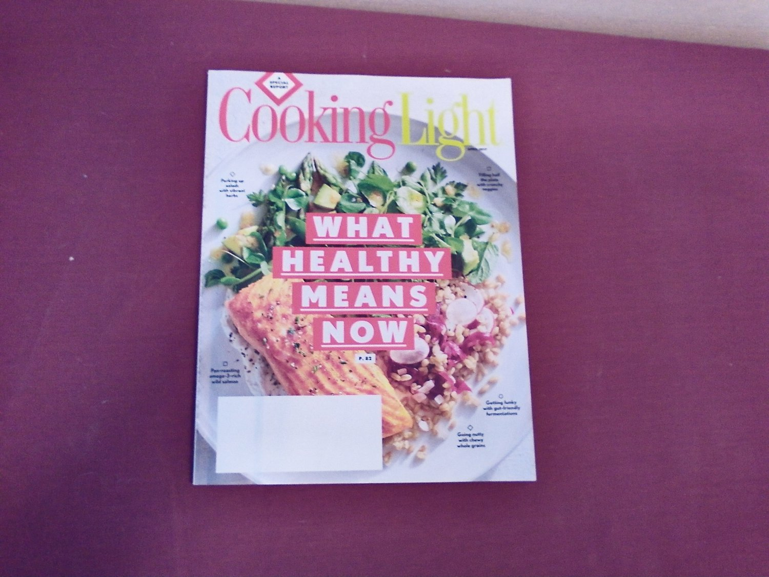 Cooking Light April 2017 Vol. 31 No. 3 - What Healthy Means Now A Special Report (G1)