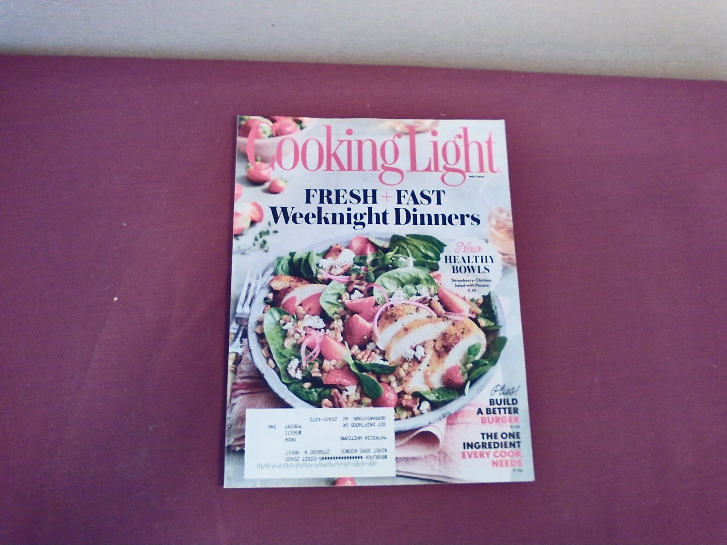 Cooking Light May 2016 Vol. 30 No. 4 - Fresh and Fast Weeknight Dinners - Ramp Recipes (G1)