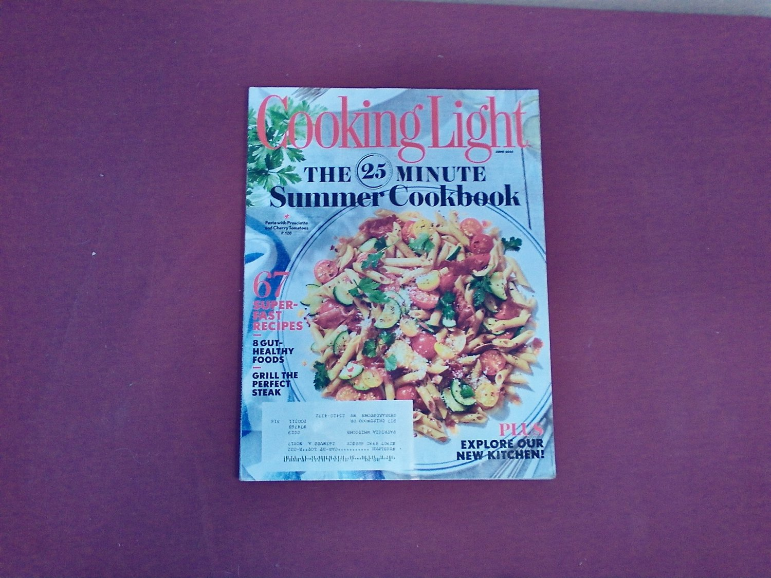Cooking Light June 2016 Vol. 30 No. 5 - The 25 Minute Summer Cookbook (G1)