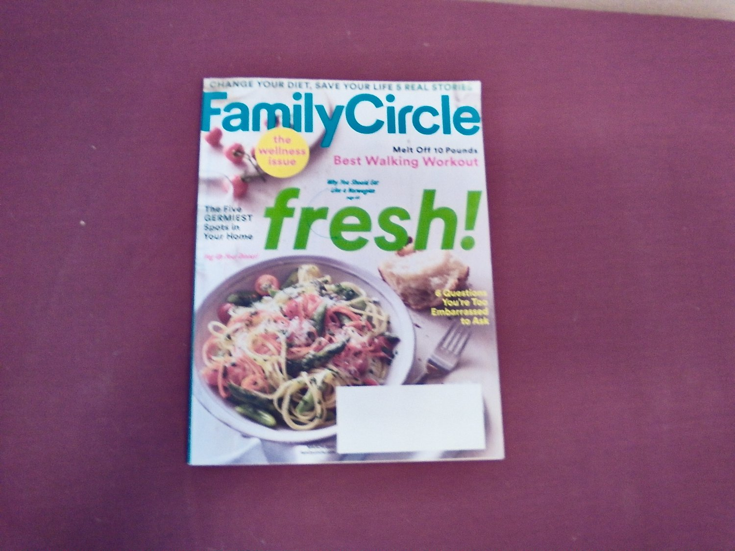 Family Circle Magazine March 2017 Volume 130 Number 3 - The Wellness Issue (G1)