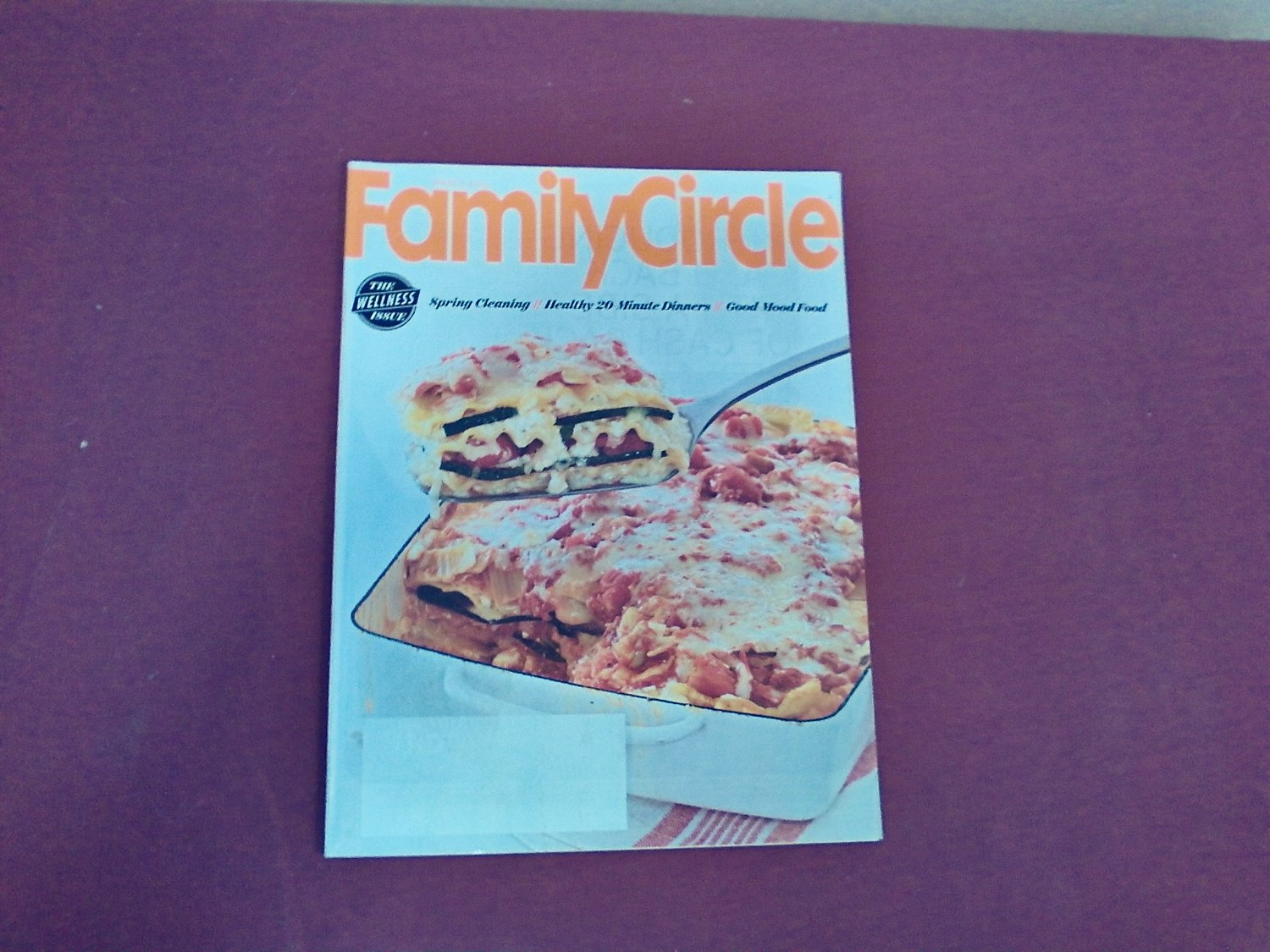 Family Circle Magazine March 2015 Volume 128 Number 3 - The Wellness Issue (G1)