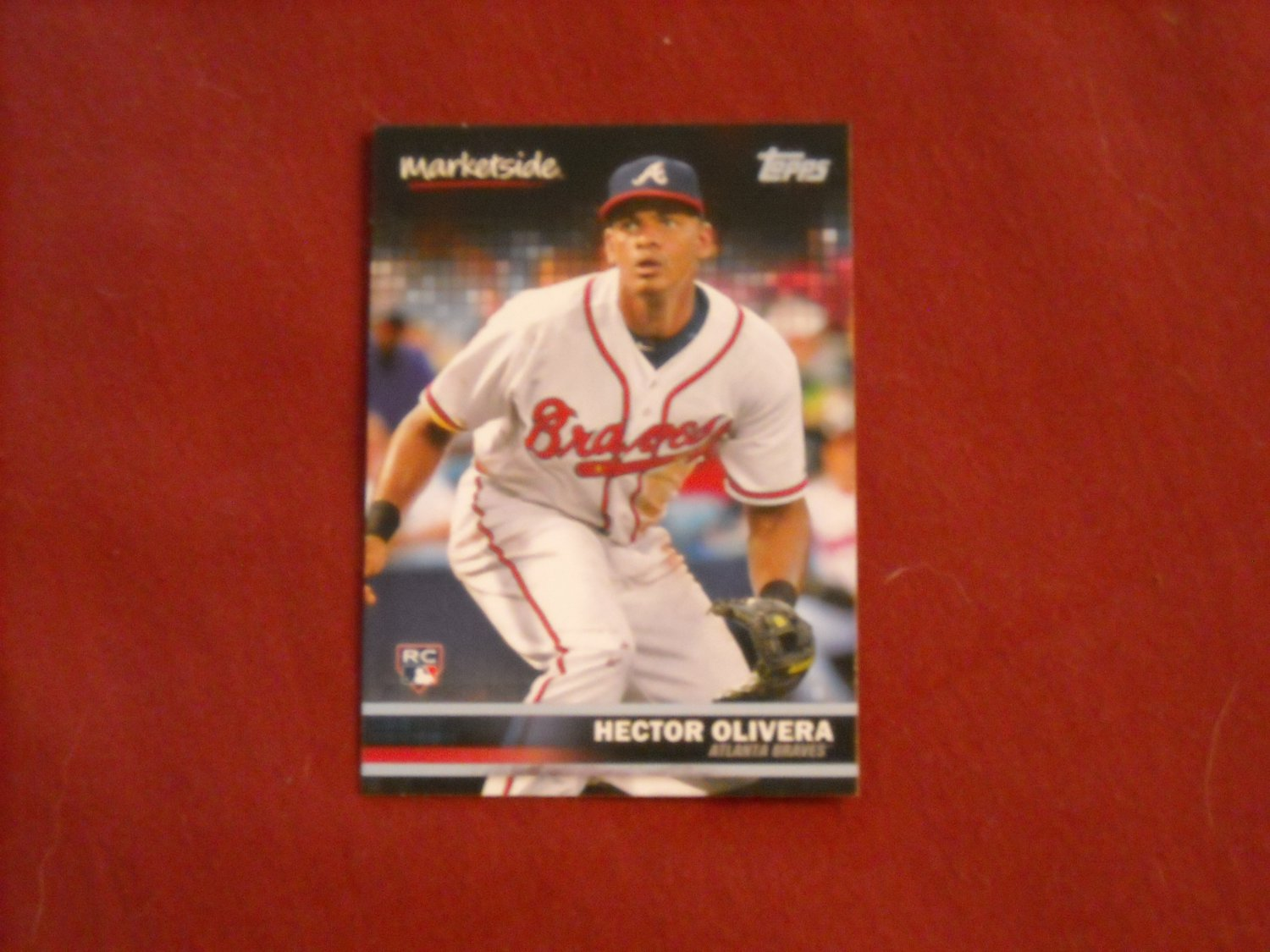 Hector Olivera Atlanta Braves Marketside Card No. 32 - Topps 2016 Baseball Card