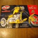 K'Nex Instruction Book Manual for Mikey's Swing Arm Bike KNex Orange County Chopper 12009 (mw)