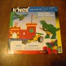 K'Nex Instruction Book Manual From Building With Bricks 820 pc set 61009 KNex (mw)
