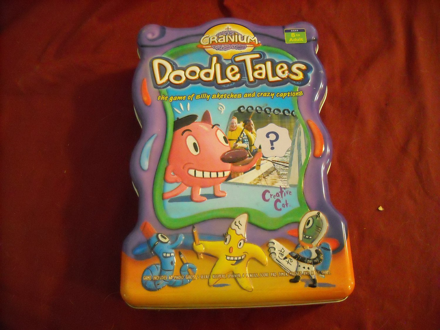 Cranium Doodle Tales Game of Silly Sketches and Crazy Captions (mw)