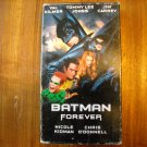 Batman Forever VHS (1995) Val Kilmer, Tommy Lee Jones, Jim Carrey - Warner Bros. PG-13