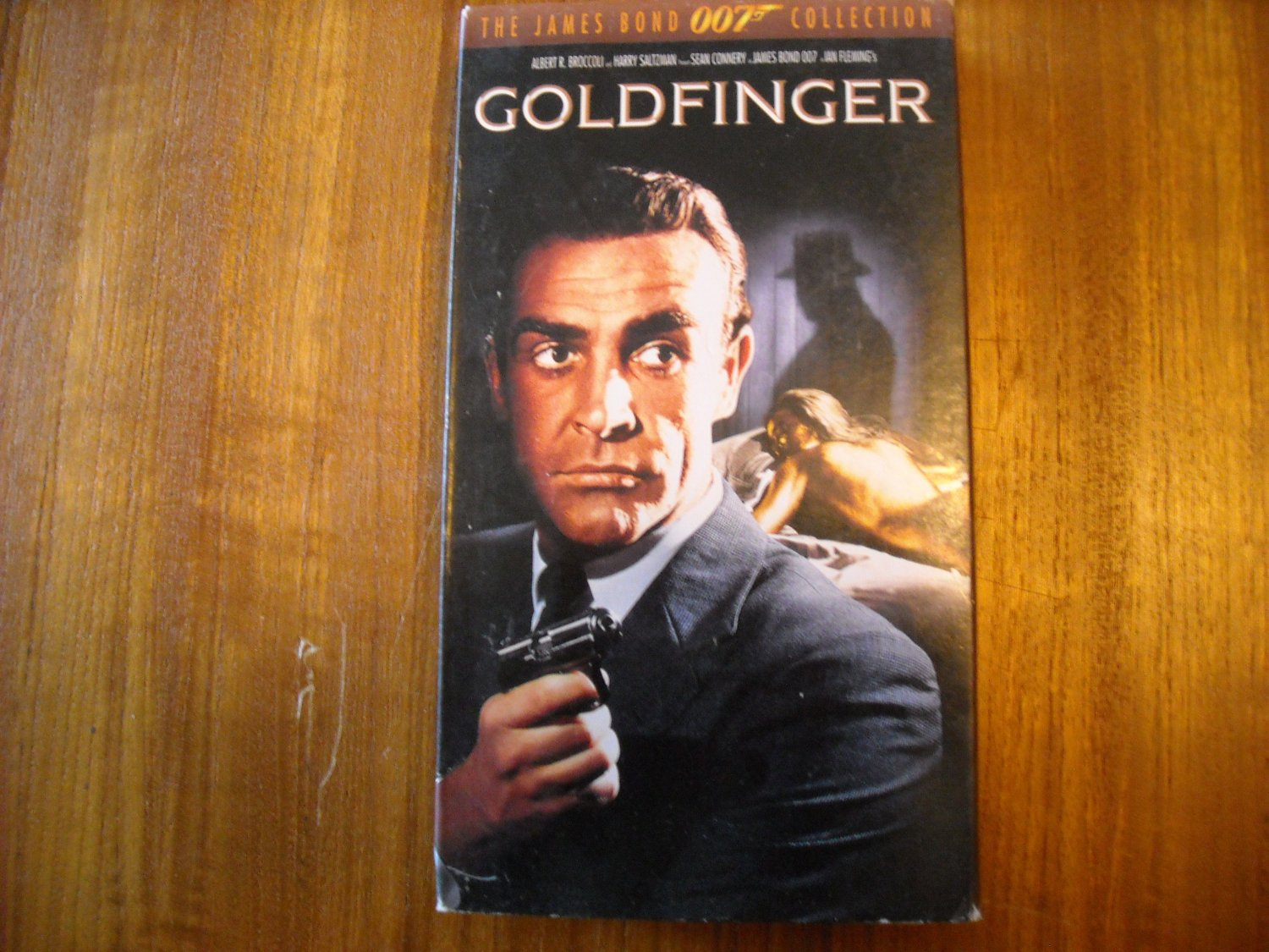 Goldfinger James Bond 007 Collection (1995 1964) Sean Connery MGM/UA VHS