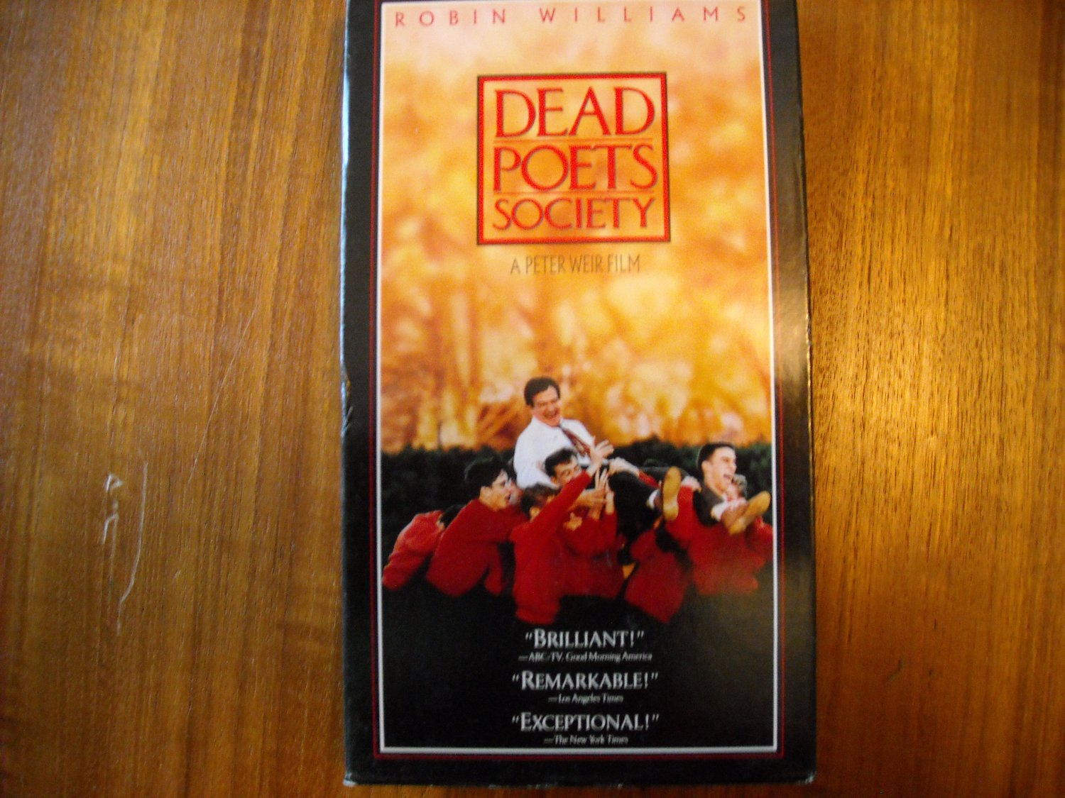 Dead Poets Society 1989 Robin Williams Robert Sean Leonard Ethan Hawke Rated Pg