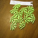 KNEX Standard Fluorescent Green Connector 4-way position - 12 pieces - Part no. 91908