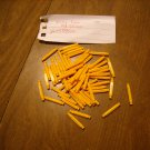 KNEX Micro Yellow Rod 0.99 In - Part Number 509512 - 60 Piece