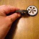 KNEX Black Tire 1 5/8 inch Part 91975 Hub 6 Spoke Silver - 1.5 inch Diameter part 91978