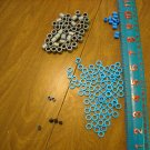 KNEX 147 Assorted Spacers and Cap Ends Part No. 90994, 512242, 512240, 516400, 91224